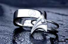 Geeky Nuptial Bands - VaLaJewelry's Geek Wedding Rings Woo the Nerdiest Fingers in the Land