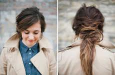 Messy DIY Hair Tutorials