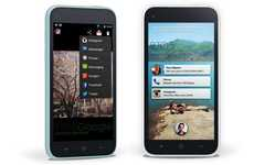 Revolutionary Social App Interfaces - Facebook Home is Literally Changing the Face of Smartphones
