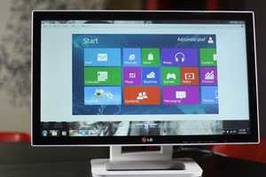 The LG Touch 10 Monitor Sits at the Axis Where Tablets & PCs Collide