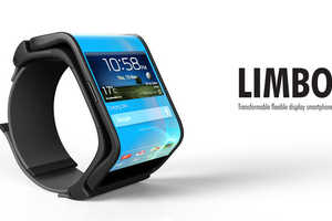 The Limbo Transformable Smartphone Switches from Handset to Timepiece