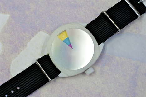 Color Wheel Timepiece