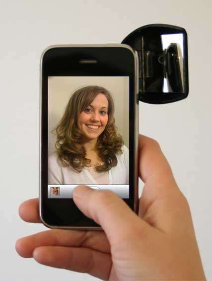 17 Smartphone Self-Portrait Aids - From Phone-Holding Key Chains to External Phone Lenses