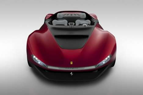 70 Fierce Ferrari Vehicles - From Chic Convertibles to Contemporary Concept Cars