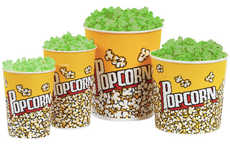 Glow-in-the-Dark Popcorn - This Theatre Snack Will Add Flair to the Film Experience