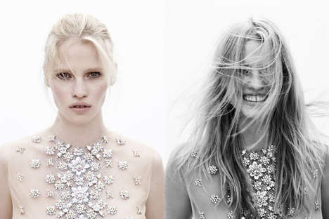 12 Glamorous Gillian Wilkins Stylings - From Flower-Infused Photoshoots to Casually Angelic Captures