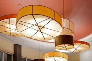 The Drum Shade Pendant Light by Fire Farm Lighting is Expressive and Warm