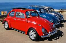 Groovy Retrofitted Electric Vehicles - Zelectric Motors Turns VW Bugs into Electric Cars with Style