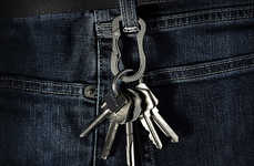 Tough Utilitarian Key Rings