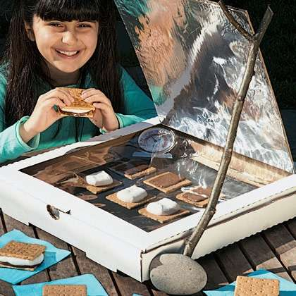 Recycled Solar-Powered Oven