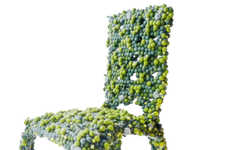 Microscopic Molecular Chairs - The Molecular Chair by Antonio Pio Saracino is Inspired by Science