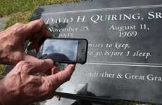 Scannable Headstones - These QR Code Headstones Give a Virtual Connection to Those Departed
