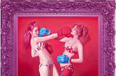 Bizarre Teen Lifestyle Paintings