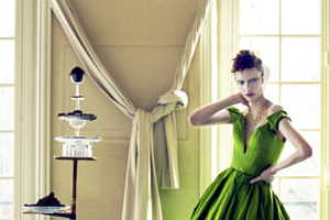 The Vogue Ukraine Haute Couture Photoshoot is High End