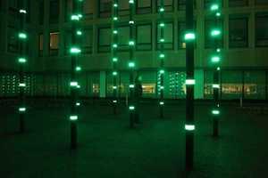 Daan Roosegarde's 'Boo' Display Lights Up Amsterdam