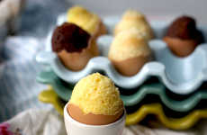 DIY Egg-Shaped Cakes