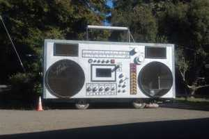 This Boombox Car From the Burning Man Festival is for Sale