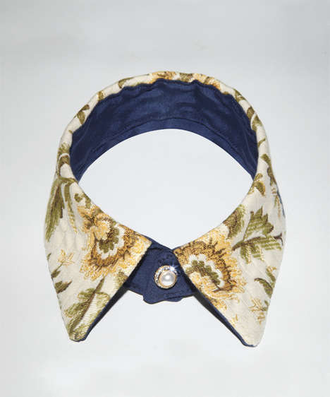 Luxuriously Embellished Collars - These Eleven Objects Creations Feature Sharp Shirtless Accessories