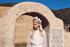 The White Escape Glamour France Photoshoot is Hippie Chic