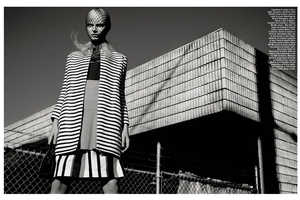 The Vogue Italia Suggestions Photoshoot is Mostly Geometric