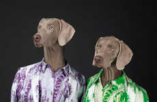 Personifed Canine Campaigns - The Acne Studios Spring/Summer Advert Stars Fashionable Animals