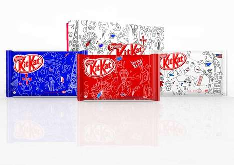 Kit Kat Cities Packaging
