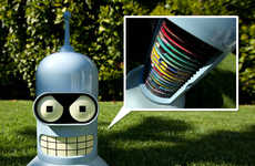 Robot from Futurama Fan Art to Life-Size Bender Wood Ovens