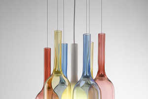 Arik Levy's 'Jar RGB' is a Colorful Experiment in Glass-Blowing Design