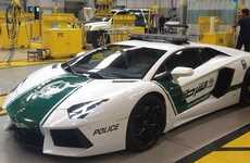 This Dubai Lamborghini Police Car Brings Justice at High Speeds