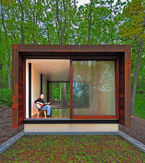 Composer-Targeted Cabins - Johnsen Schmaling Architects