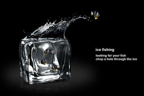 Ice Cube Fishbowl