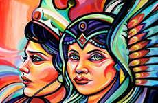 Monumental Motherhood Murals