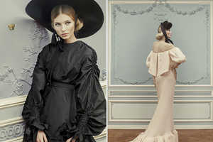 The Ulyana Sergeenko 2013 Couture Collection Channels Scarlett O'Hara