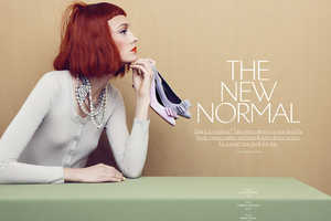 The Apropos Journal 'The New Normal' Photoshoot Stars Nimue Smit