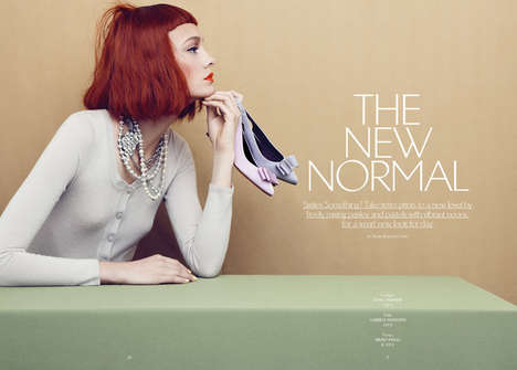 Eclectic Retro Editorials - The Apropos Journal