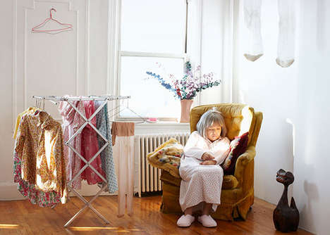 Elderly Alter-Ego Photography - I Used to be You by Kyoto Hamada Tackles the Fear of Aging