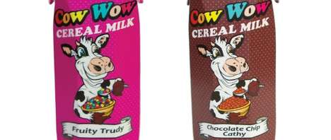 Cereal-Flavored Milks - Cow Wow Milk Tastes Like it's Already Been Mixed with Cereal