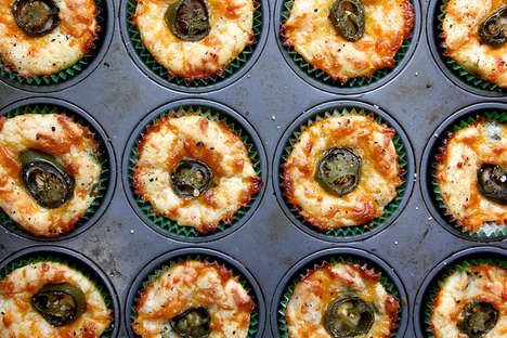 Cheddar and Jalapeno Muffins