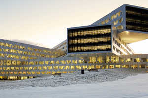 The Statoil Regional and International Offices Displays Futurism