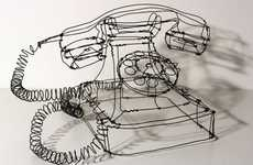 Mannerist Wireframe Sculptures