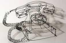 Mannerist Wireframe Sculptures