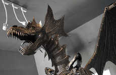 Kreatworks's Dragon Sculpture Likely Won't Fit in Your Home