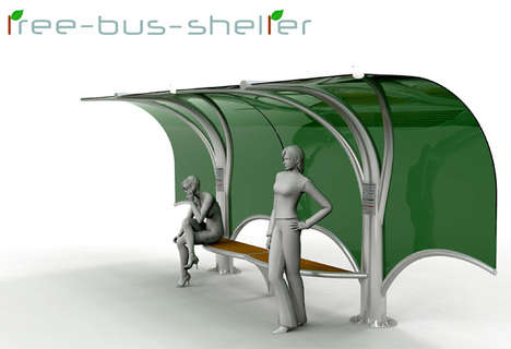Tree Bus Shelter
