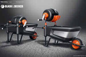 The Black & Decker Cement Mixer Assists with DIY Home Renos