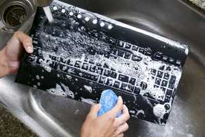 This Washable Keyboard Can Be Put Through a Dishwasher