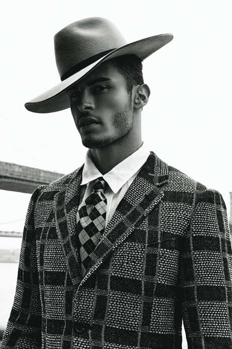 Retro Inspired Gangster Portraits - The Hat Required DSection Editorial Channels 1920s Era Elegance