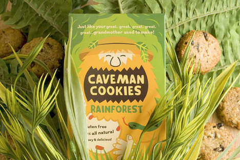 Caveman Cookies Packaging