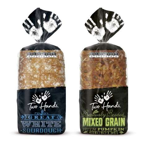 Two Hands Bread Packaging
