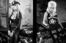 Retro Biker Editorials