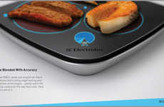 Touchscreen Cordless Cooktops - The Smart Grill Lets You Fine-Tune and Customize Your BBQ Experience